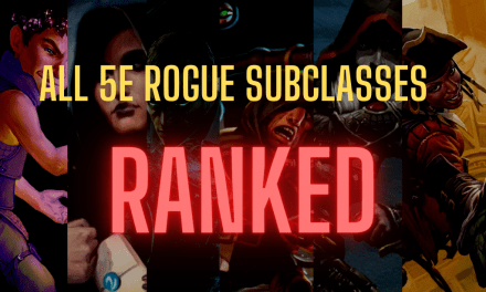 Ranking Every Rogue Subclass in D&D 5e