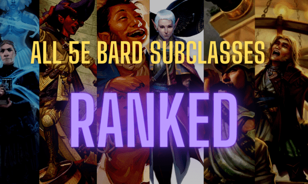 Ranking Every Bard Subclass in D&D 5e