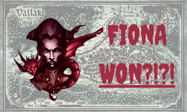 So Fiona Wachter Took Over Vallaki | Curse of Strahd | D&D Storytime